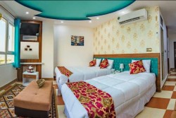 آپارتمان یک خواب سه تخت رو به دریا